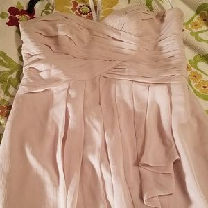 David's Bridal Bridesmaid dress size 12 EUC